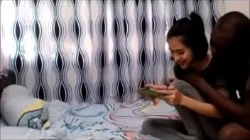 หลุดเสียงไทยชัดเจน เด็กมัธยมโรงเรียนวัดได้ผัวนิโกรจากข้าวสาร ของใหญ่เย็ดหีบานชัวร์