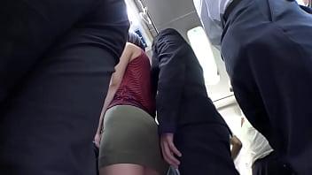 หนังAVข่มขืน ล้วงหีสาวบนรถบัสเย็ดโหดสุดยอด xxx เล้าโลมจนเธอเงี่ยนยอมถูกแอบเย็ดบนรถ กระแทกหีแรงๆเย็ดให้หีตด
